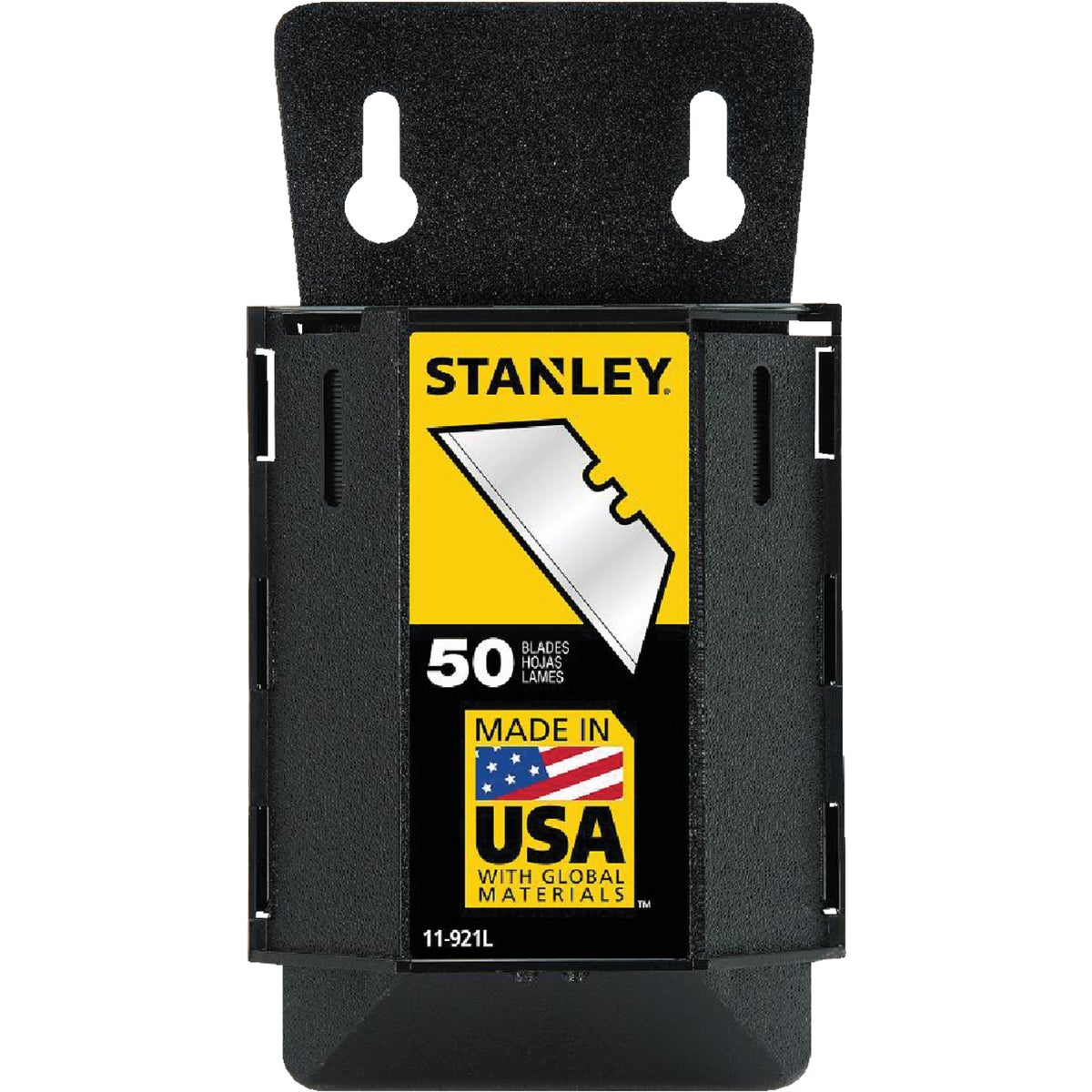 50PK HEAVY-DUTY BLADE - 11-921L by Stanley Tools