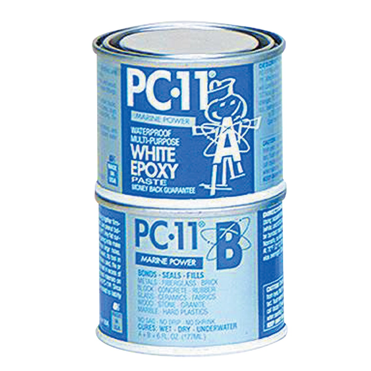 1/2LB PC-11 EPOXY PASTE - PC-11-1/2LB by Protective Coating