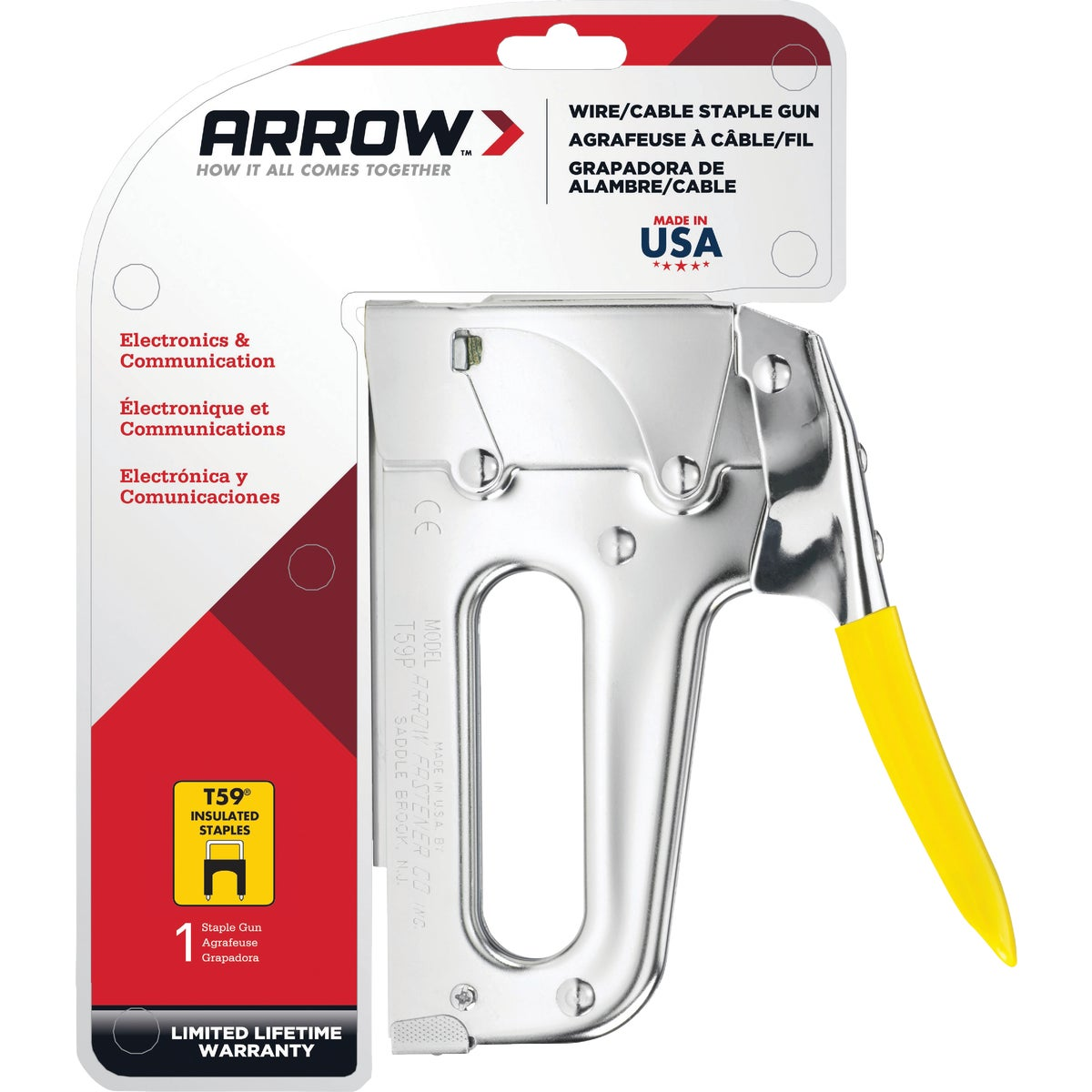 WIRING STAPLE GUN - T59 by Arrow Fastener Co