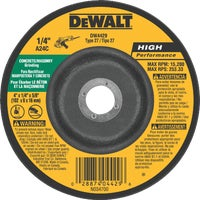 Black & Decker/DWLT 4X1/4 MSNRY GRIND WHEEL DW4429
