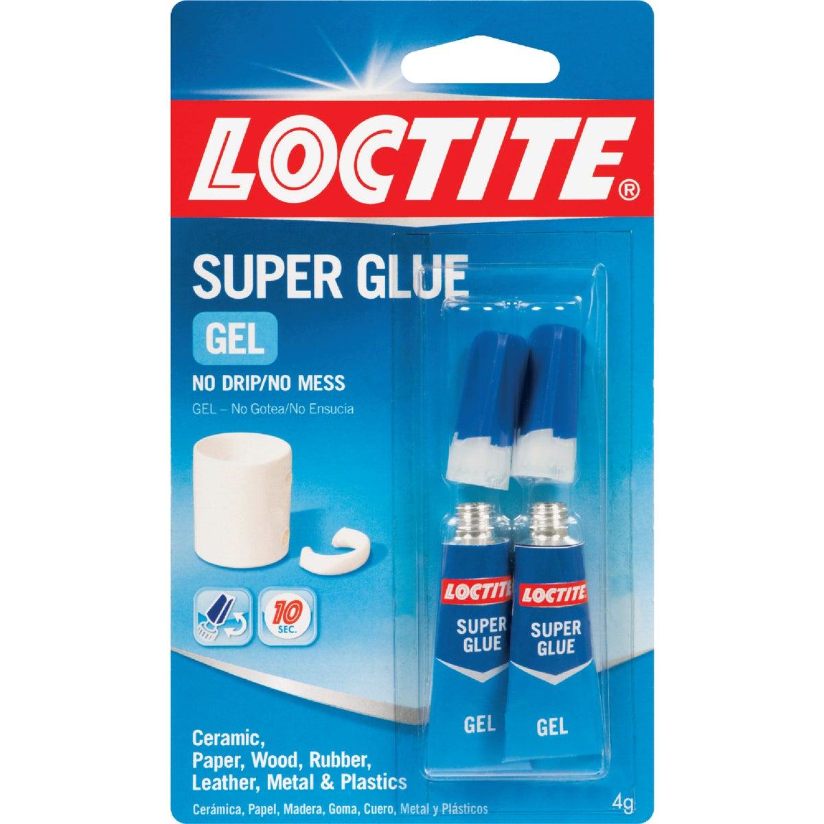 2PK 2GM GEL SUPER GLUE - 1399965 by Henkel Corporation