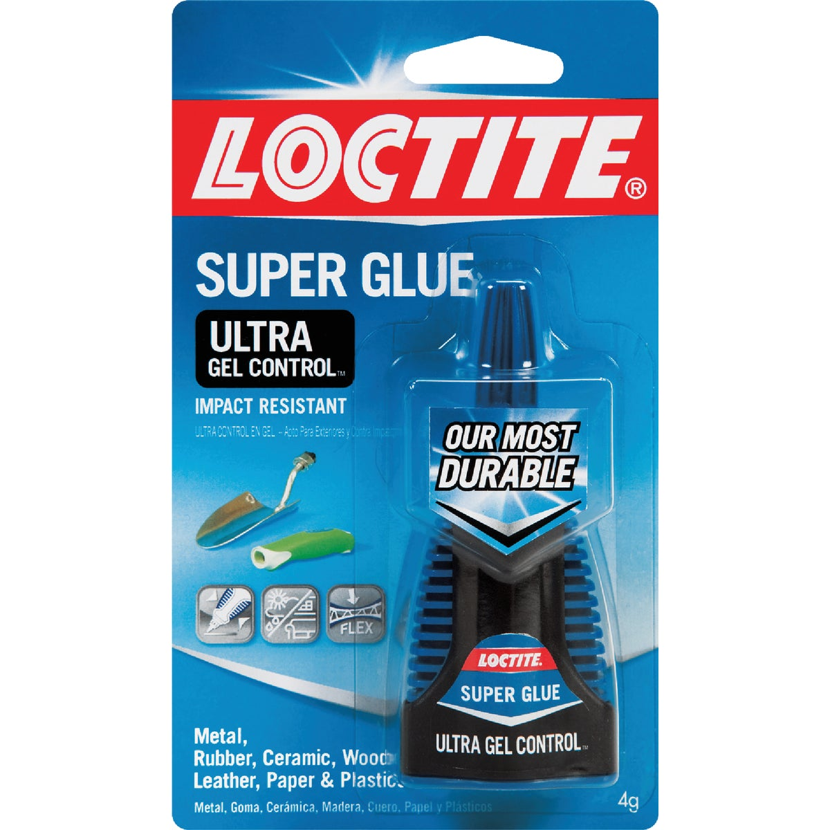 4GM ULTRA GEL SUPER GLUE - 1363589 by Henkel Corporation