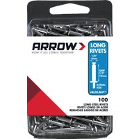 Arrow Fastener 1/8X1/2 STL RIVET RLS1/8IP