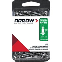 Arrow Fastener 3/16X1/4 ALUM RIVET RMA3/16IP