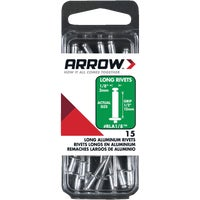 Arrow Fastener 1/8X1/2 ALUM RIVET RLA1/8