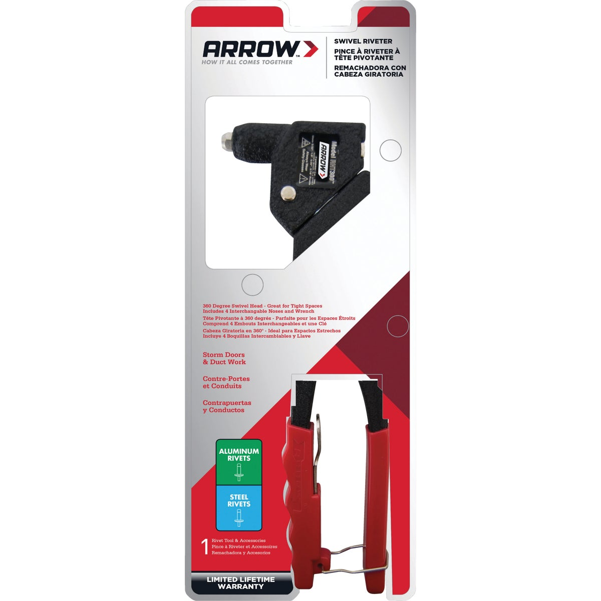 TWISTER RIVET TOOL - RHT300 by Arrow Fastener Co
