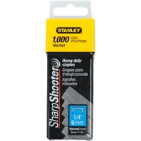 Stanley SharpShooter Heavy-Duty Narrow Crown Staple, TRA704T