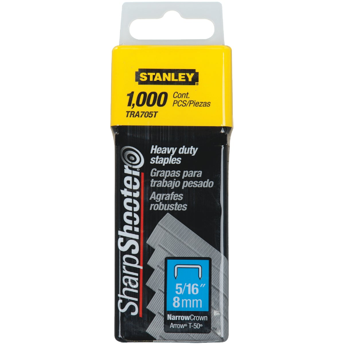 "5/16"" HEAVY DUTY STAPLE - TRA705T by Stanley Tools"