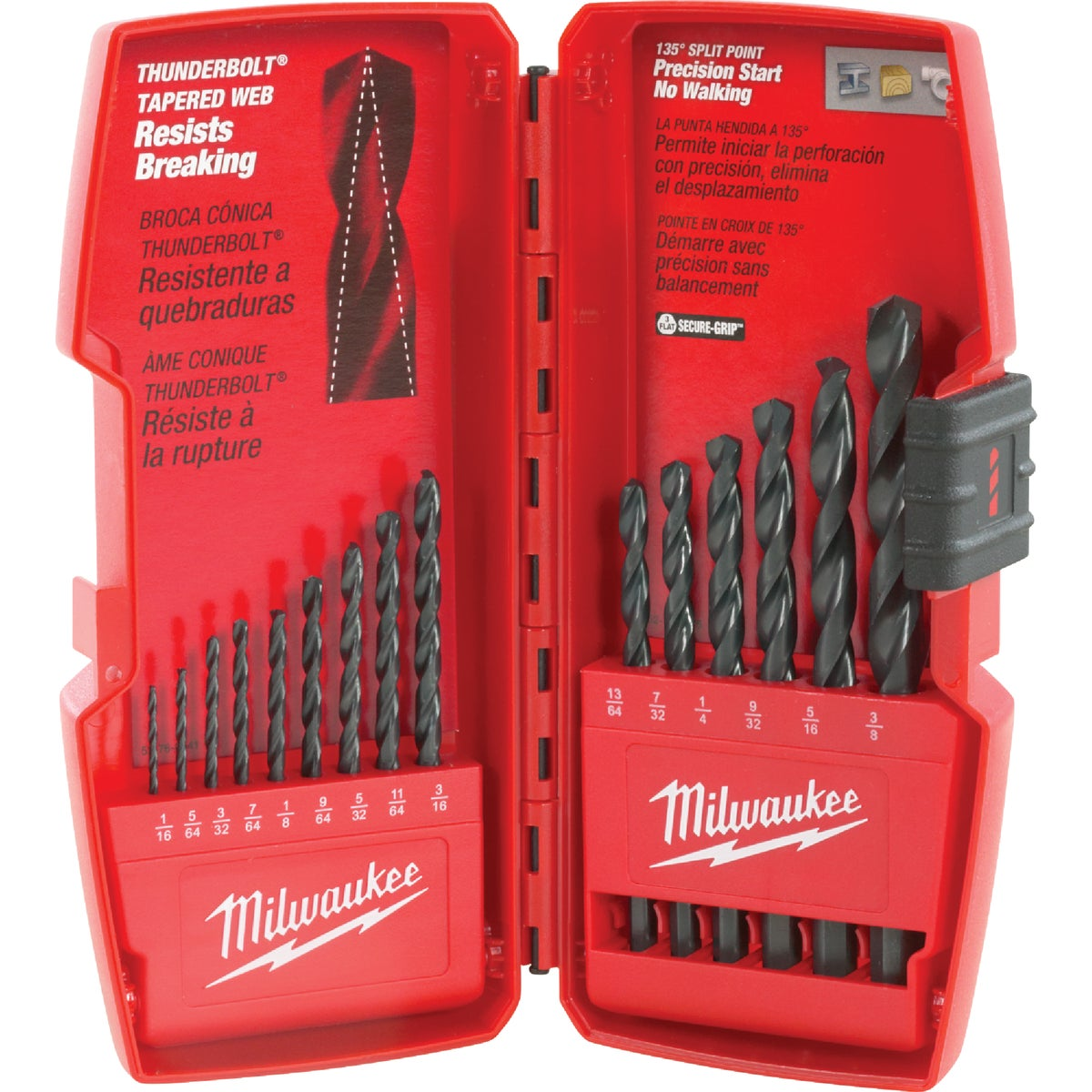 15PC BLACK OXIDE BIT SET - 48892803 by Milwaukee Accessory
