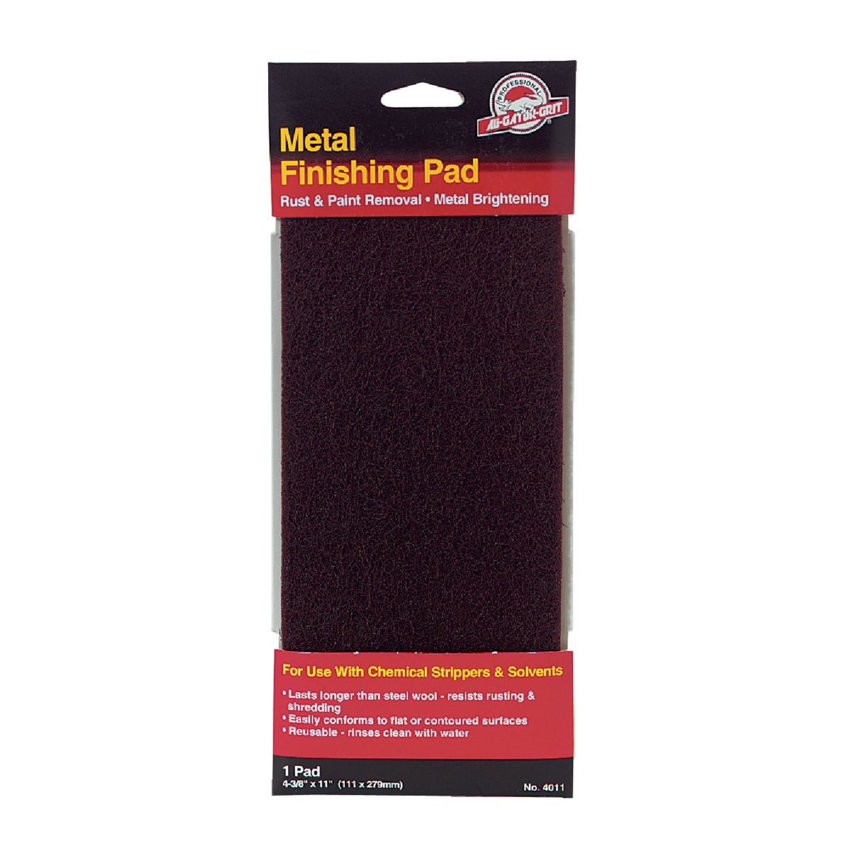 METAL STRIPPING PAD - 359068 by Ali Industries Inc