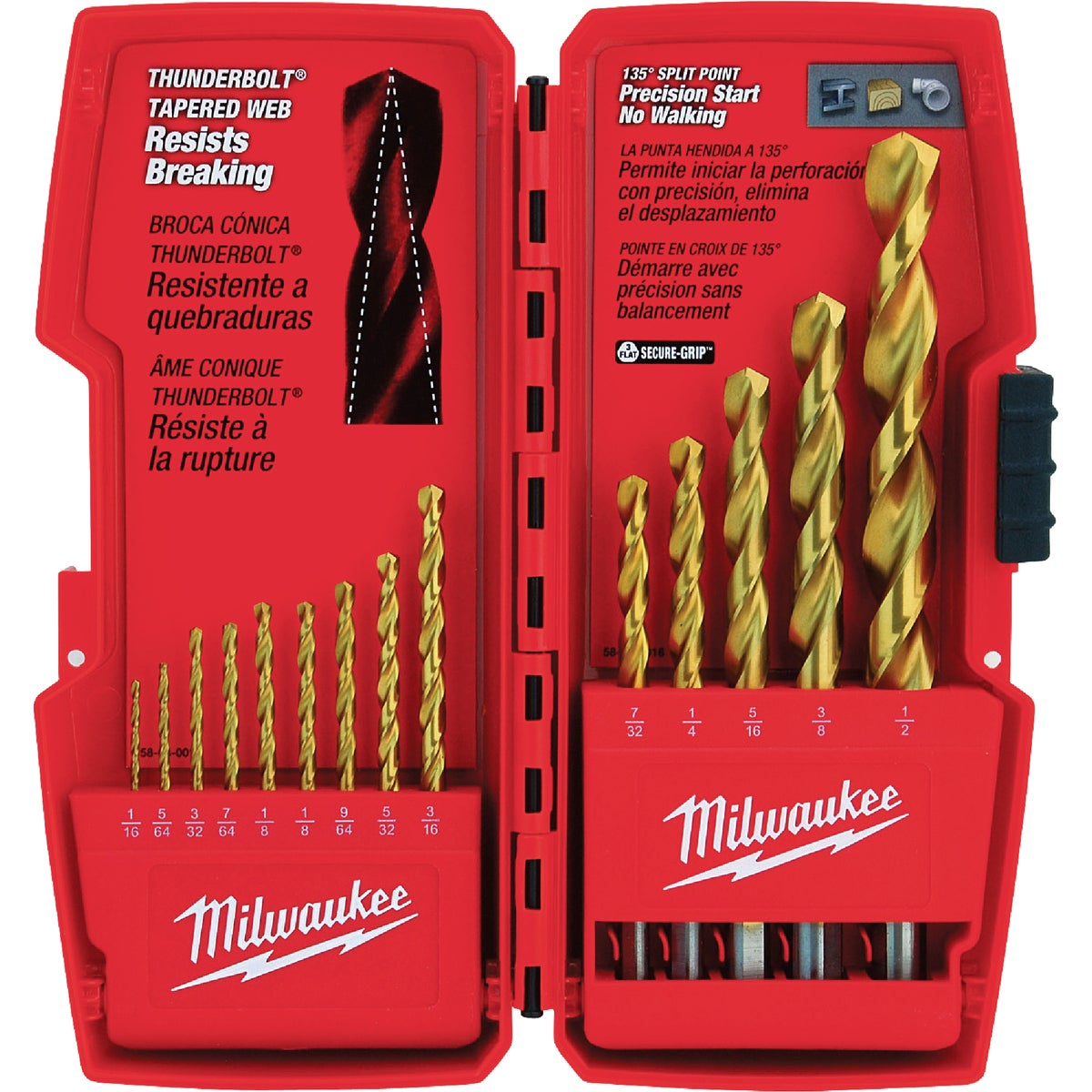 14PC TITANIUM BIT SET - 48-89-0011 by Milwaukee Accessory