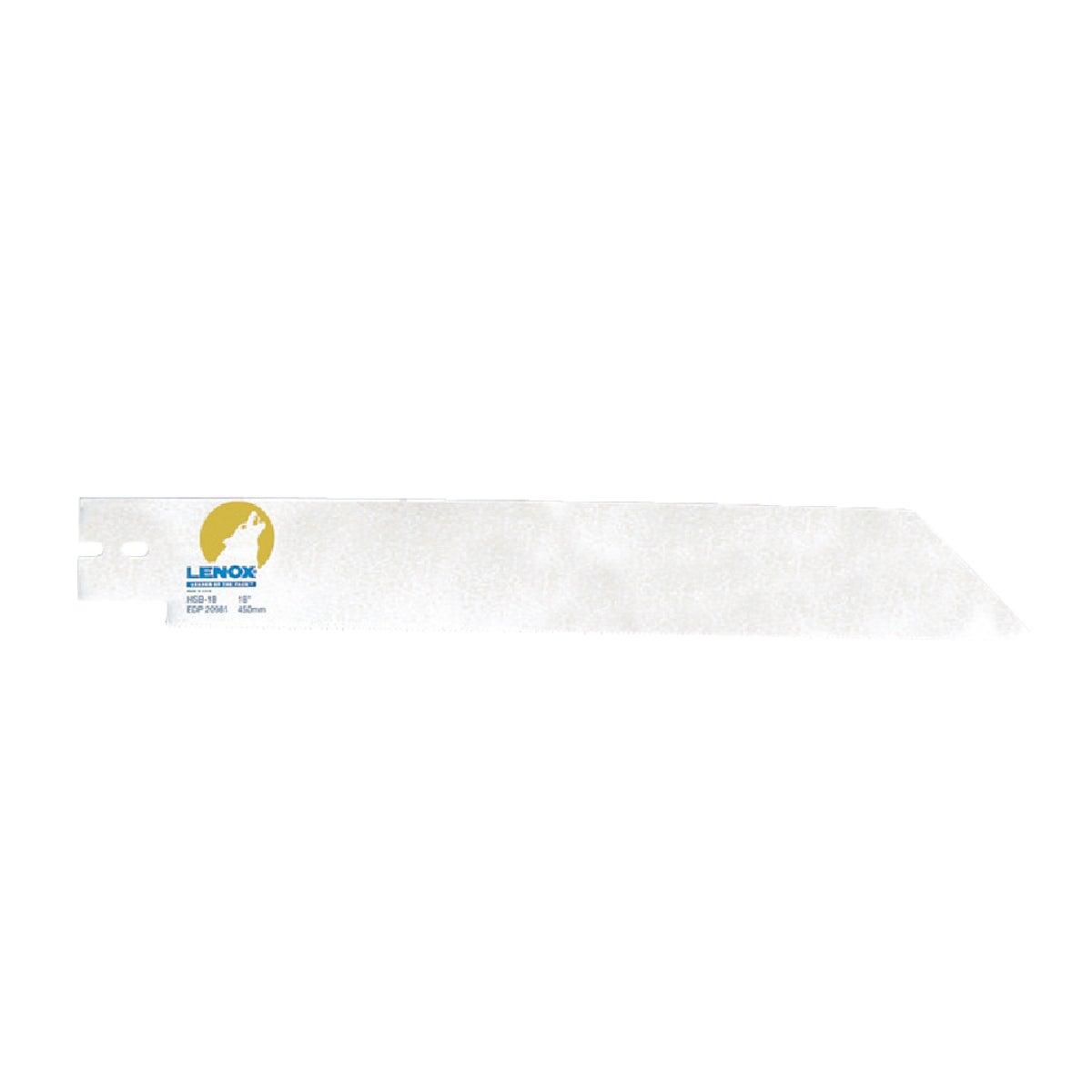 Lenox PVC/ABS BLADE HSB-18