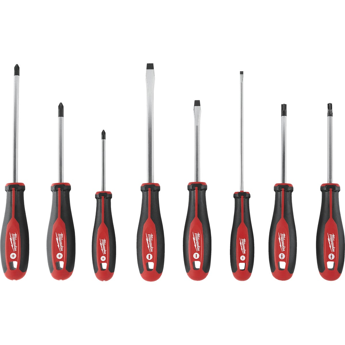 8PC SCREWDRIVER SET - 48-22-2008 by Milwaukee Elec Tool