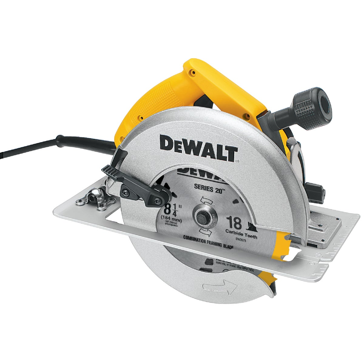 "8-1/4"" 15A CIRCULAR SAW - DW384 by DeWalt"