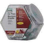 100 Pairs Foam Earplugs in Counter Dispenser