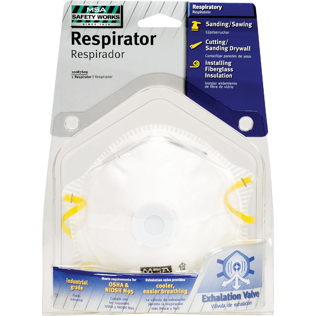 N95 RESPIRATOR W/VALVE - 10103821 by Msa Safety