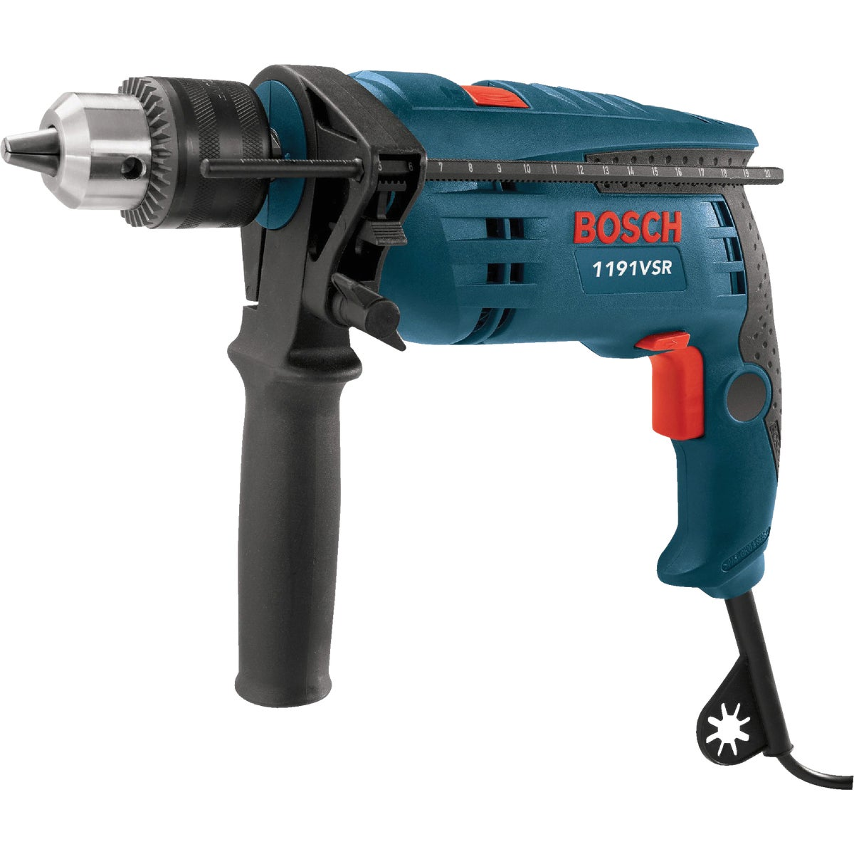 "1/2"" 3-JAW HAMMER DRILL - 1191VSRK by Robt Bosch Tool Corp"