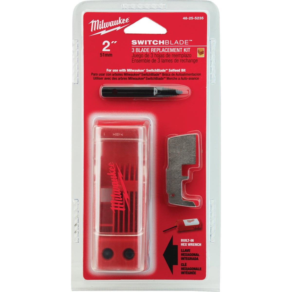 "3PK 2"" SWITCHBLADES - 48-25-5225 by Milwaukee Accessory"