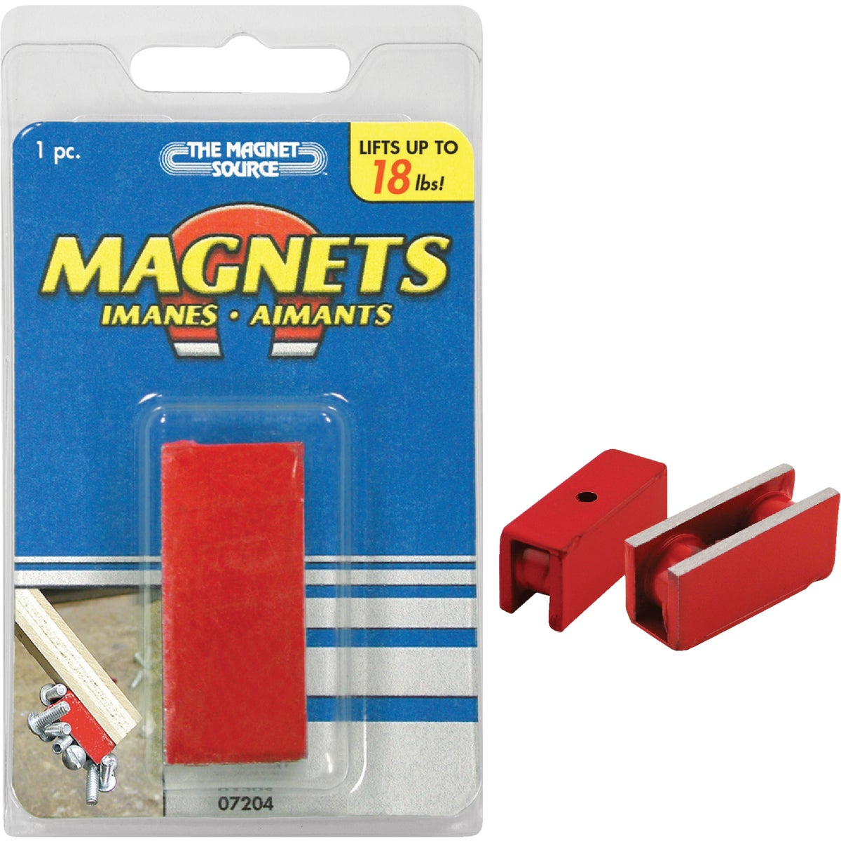 18LB RETRIEVING MAGNET - 07204 by Master Magnetics