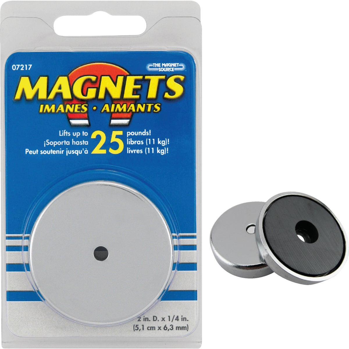"2"" MAGNETIC BASE - 07217 by Master Magnetics"