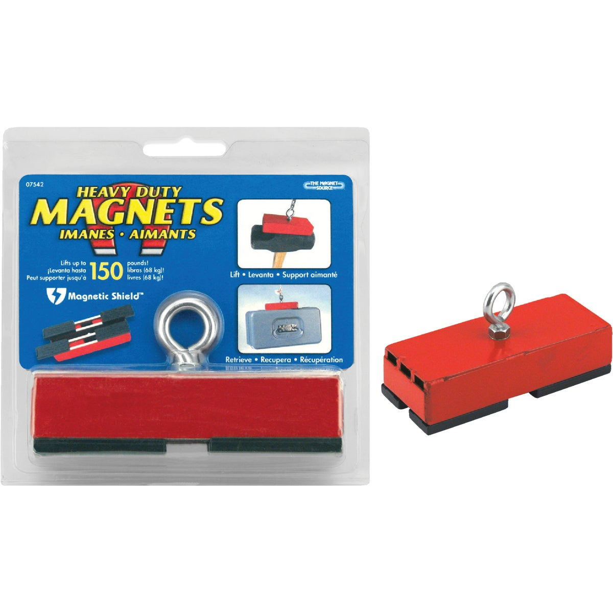 150LB RETRIEVING MAGNET - 07542 by Master Magnetics