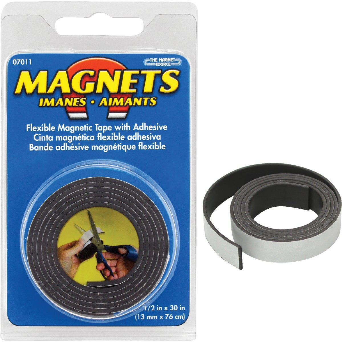 1/2X30 MAGNETIC TAPE - 07011 by Master Magnetics