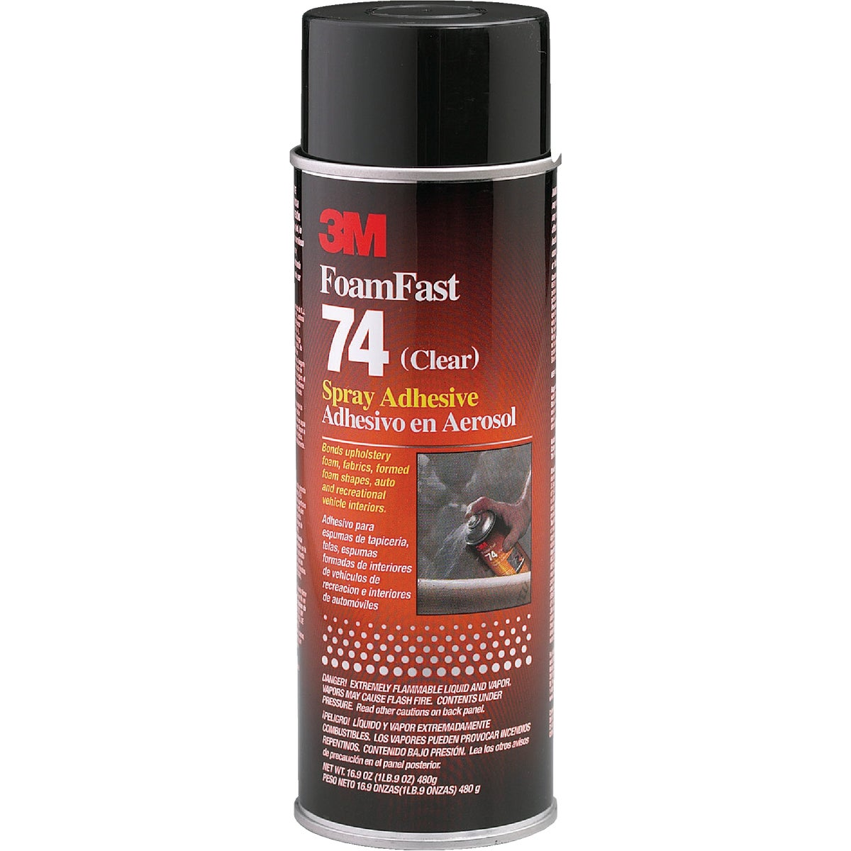 17OZ SPRAY ADHESIVE - 74 by 3m Co