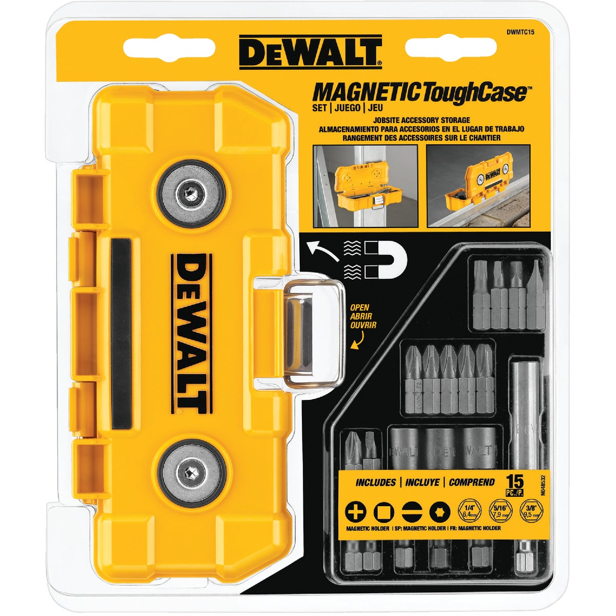 15PC SCREWDRIVING SET - DWMTC15 by DeWalt