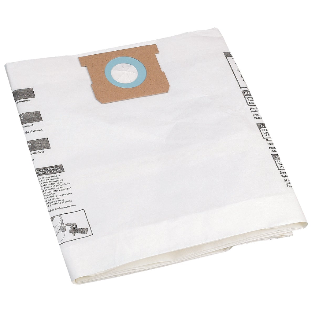 MED PAPER COLLECTION BAG - 9066200 by Shop Vac Corp