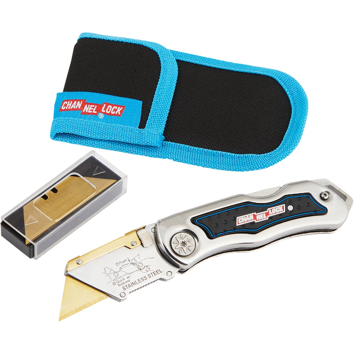 LOCKBACK UTILITY KNIFE - 300112 by Channellock®
