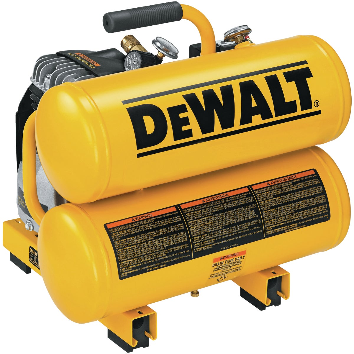 2HP 4GAL AIR COMPRESSOR - D55151 by DeWalt
