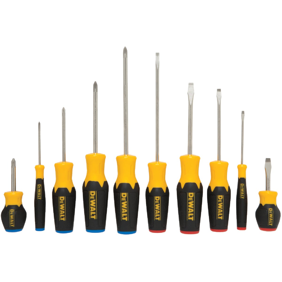 10PC SCREWDRIVER SET - DWHT62513 by Stanley Tools