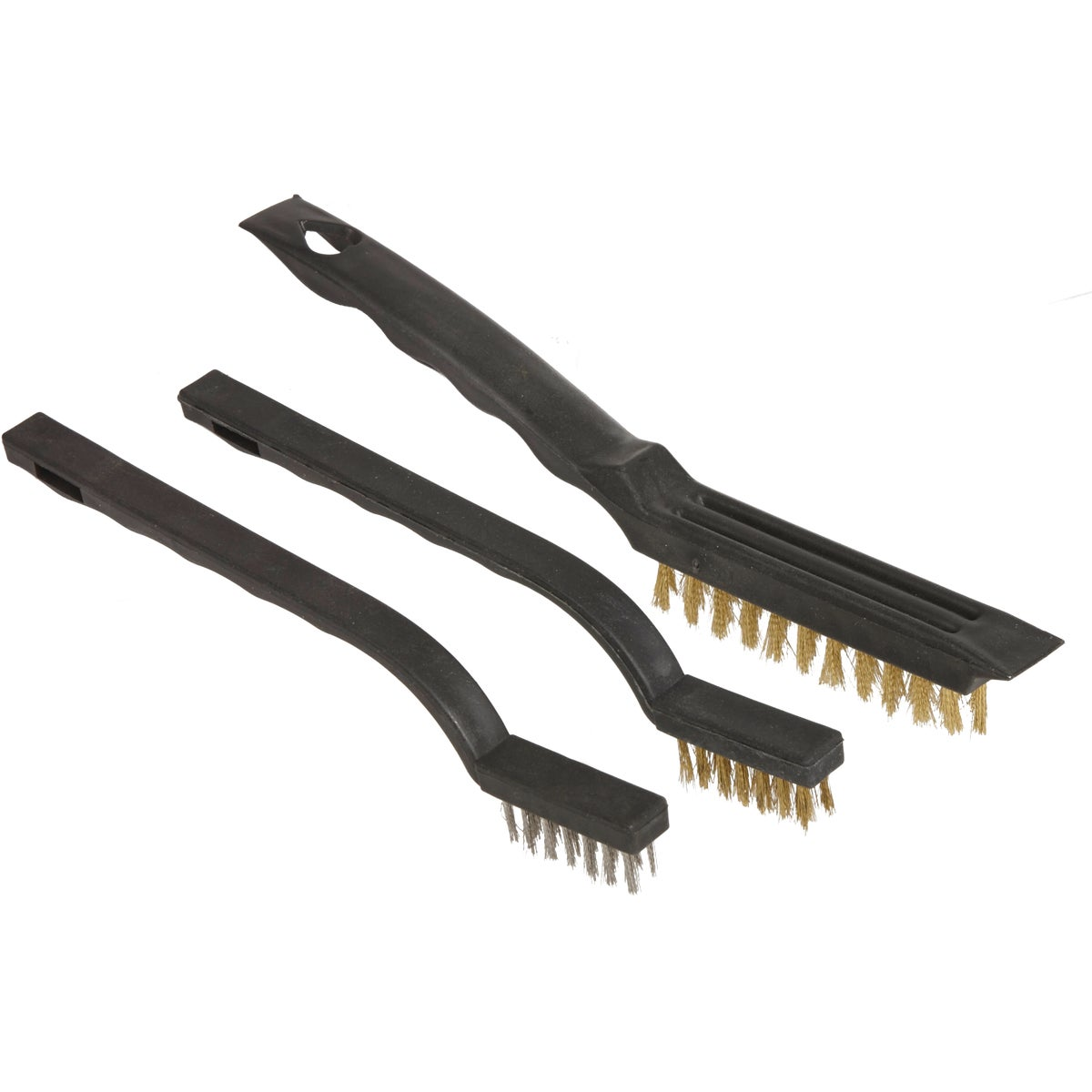 Great Neck 3PC WIRE BRUSH SET BS3W