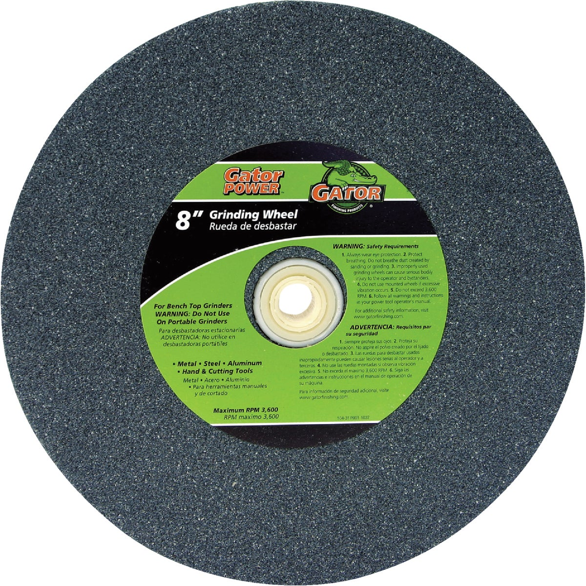 "8"" 60G GRINDING WHEEL - 6001 by Ali Industries Inc"
