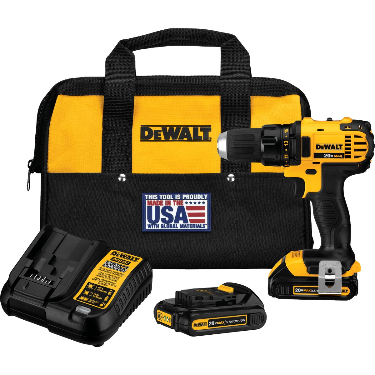 20V DRILL DRIVER KIT - DCD780C2 by DeWalt