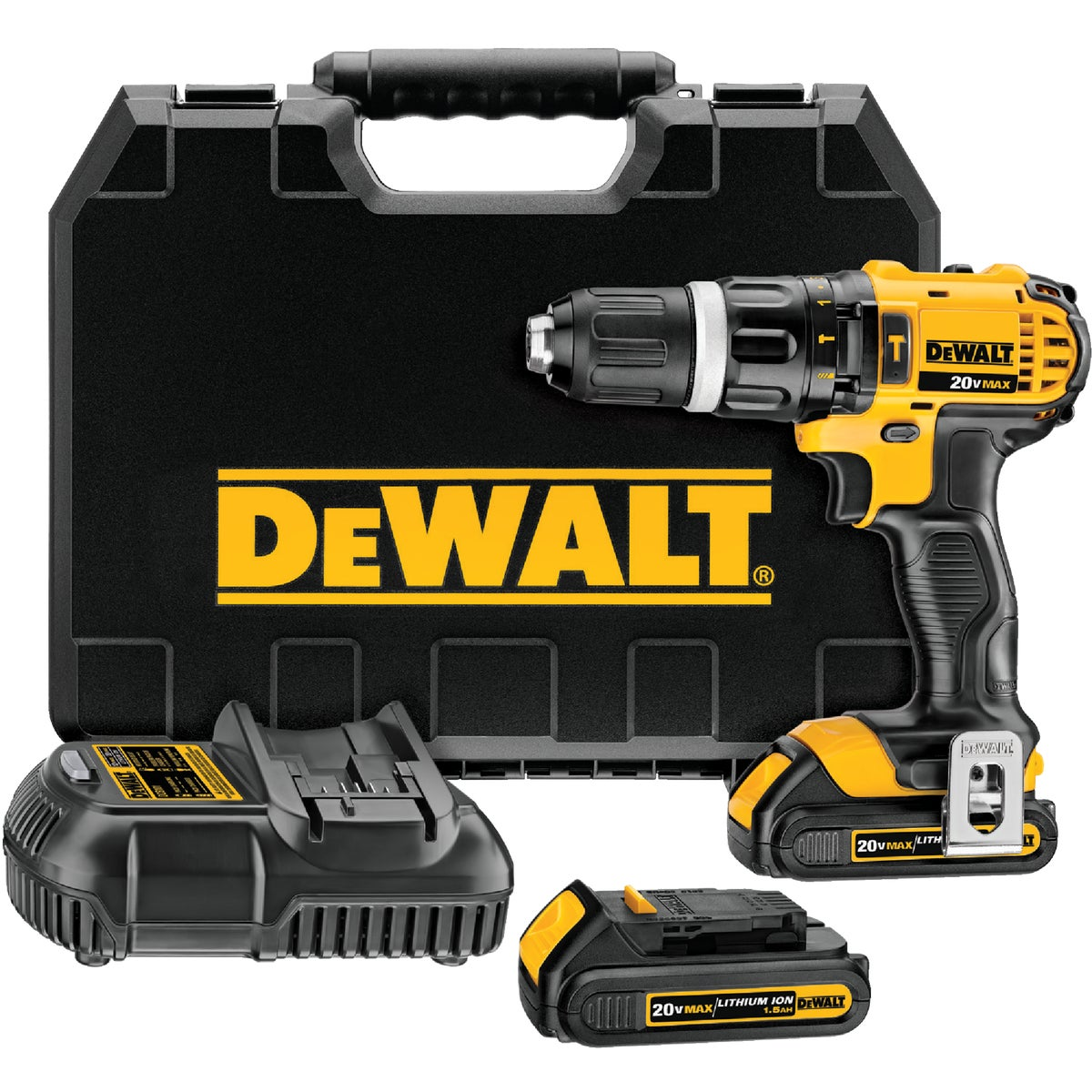 20V HAMMER DRILL KIT - DCD785C2 by DeWalt