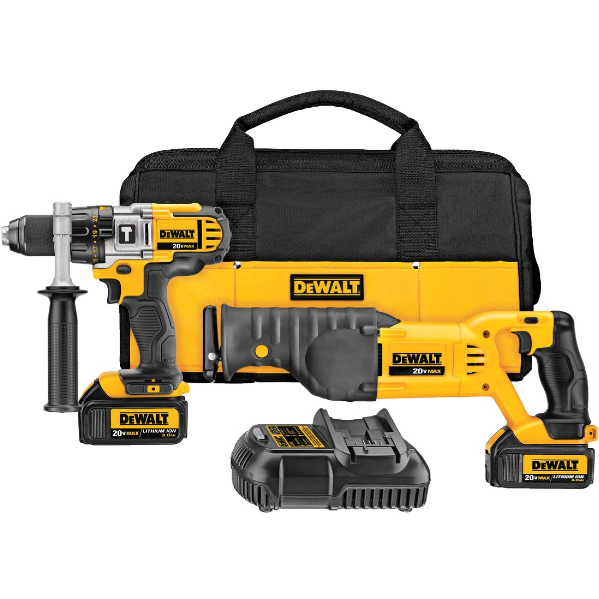 20V HAMRDRIL/RECIP KIT - DCK292L2 by DeWalt