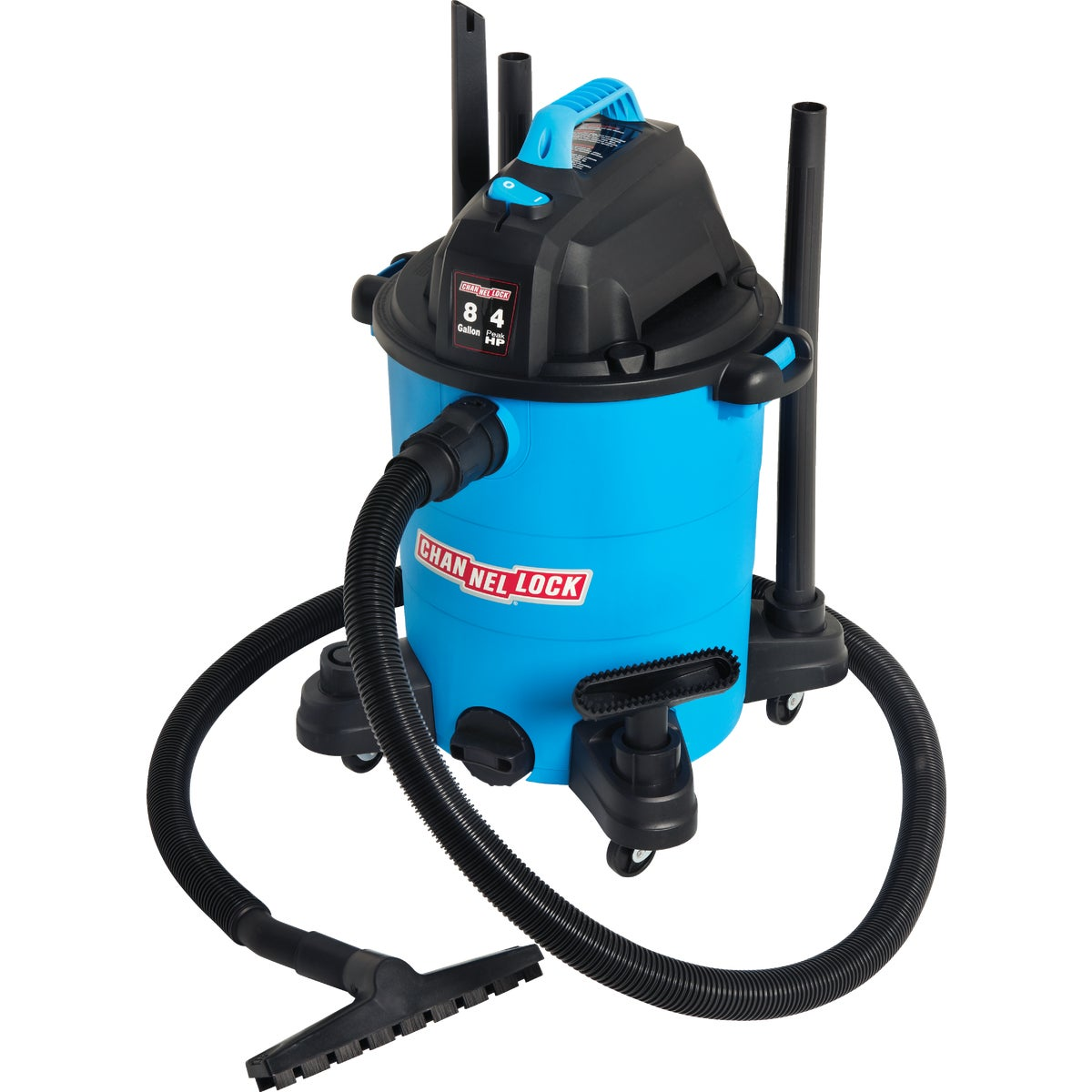 8GAL 4 HP WET/DRY VAC - VQ810PF.CL by Channellock®