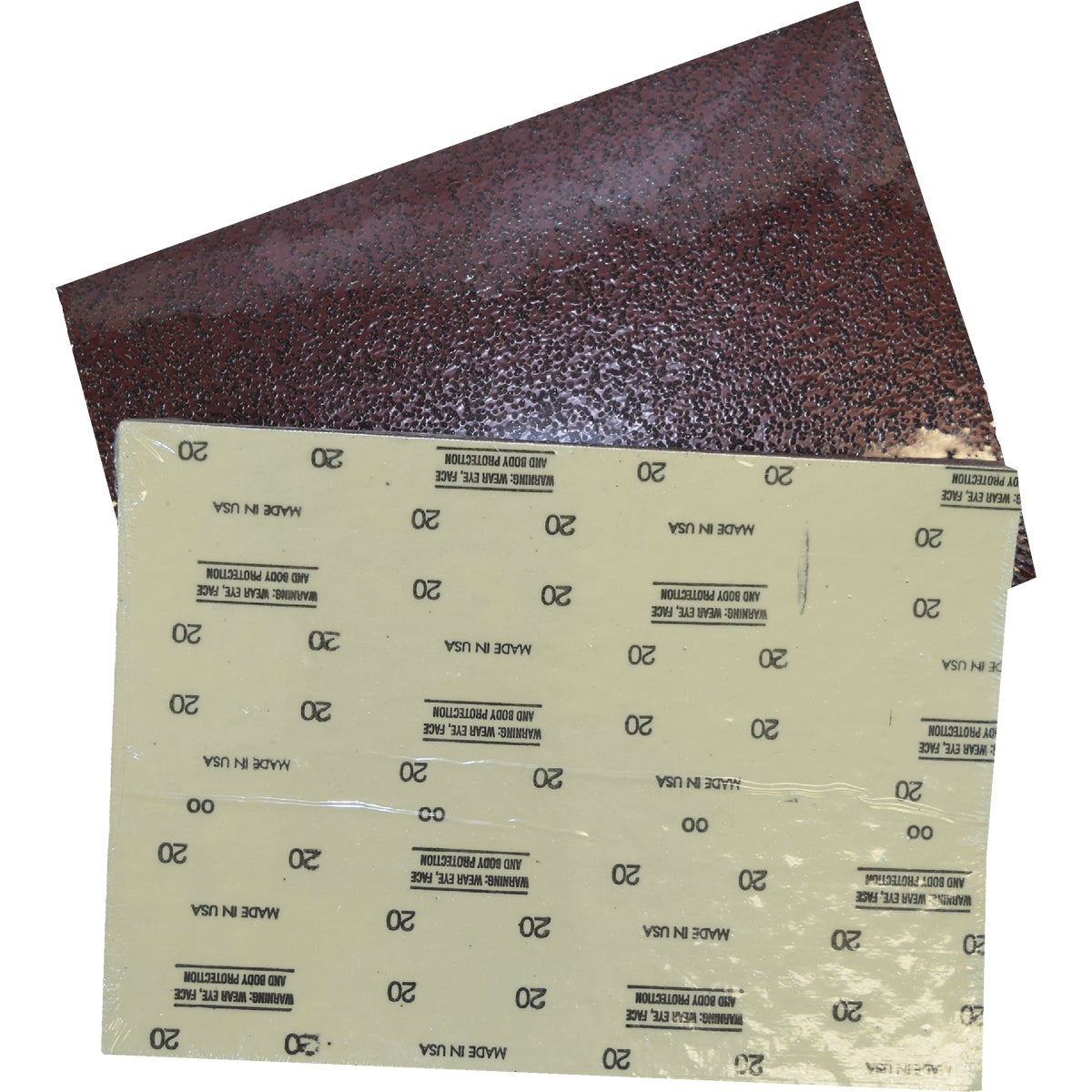 12X18 60G SANDING SHEET - 206-834060 by Virginia Abrasives