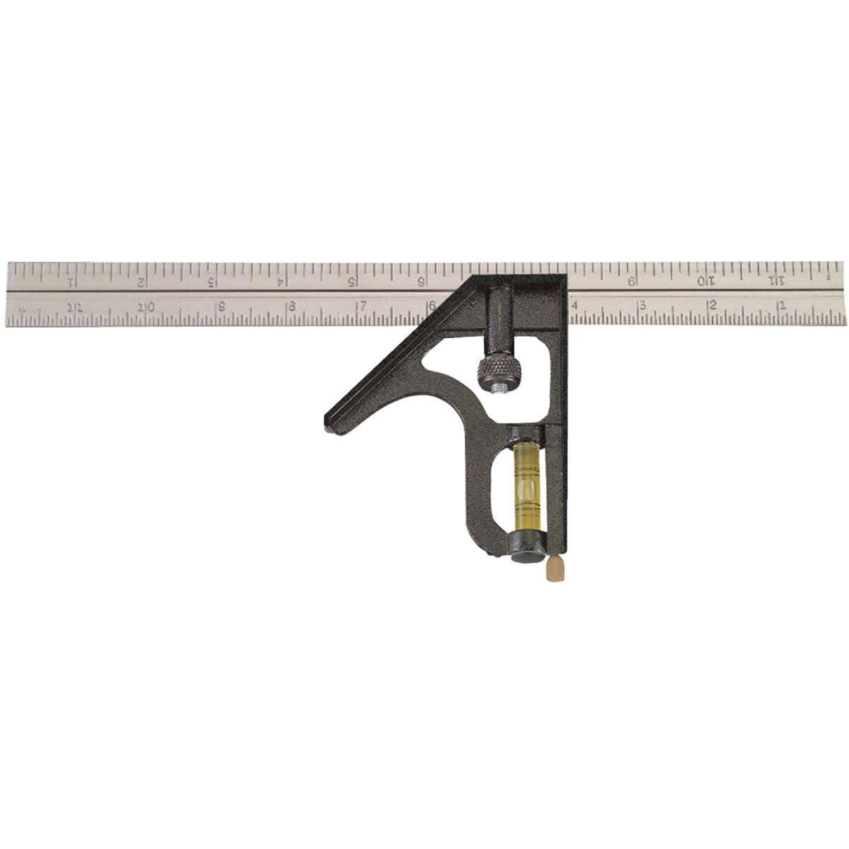 "12"" METRIC COMBO SQUARE - 400EM by Johnson Level & Tool"
