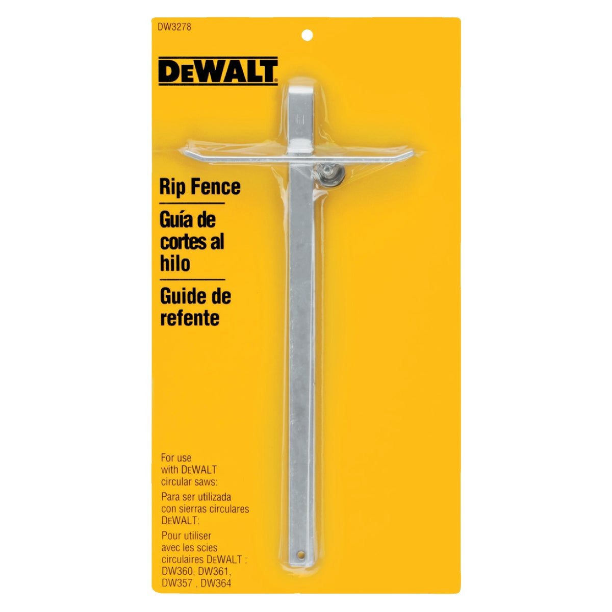 RIP FENCE - DW3278 by DeWalt