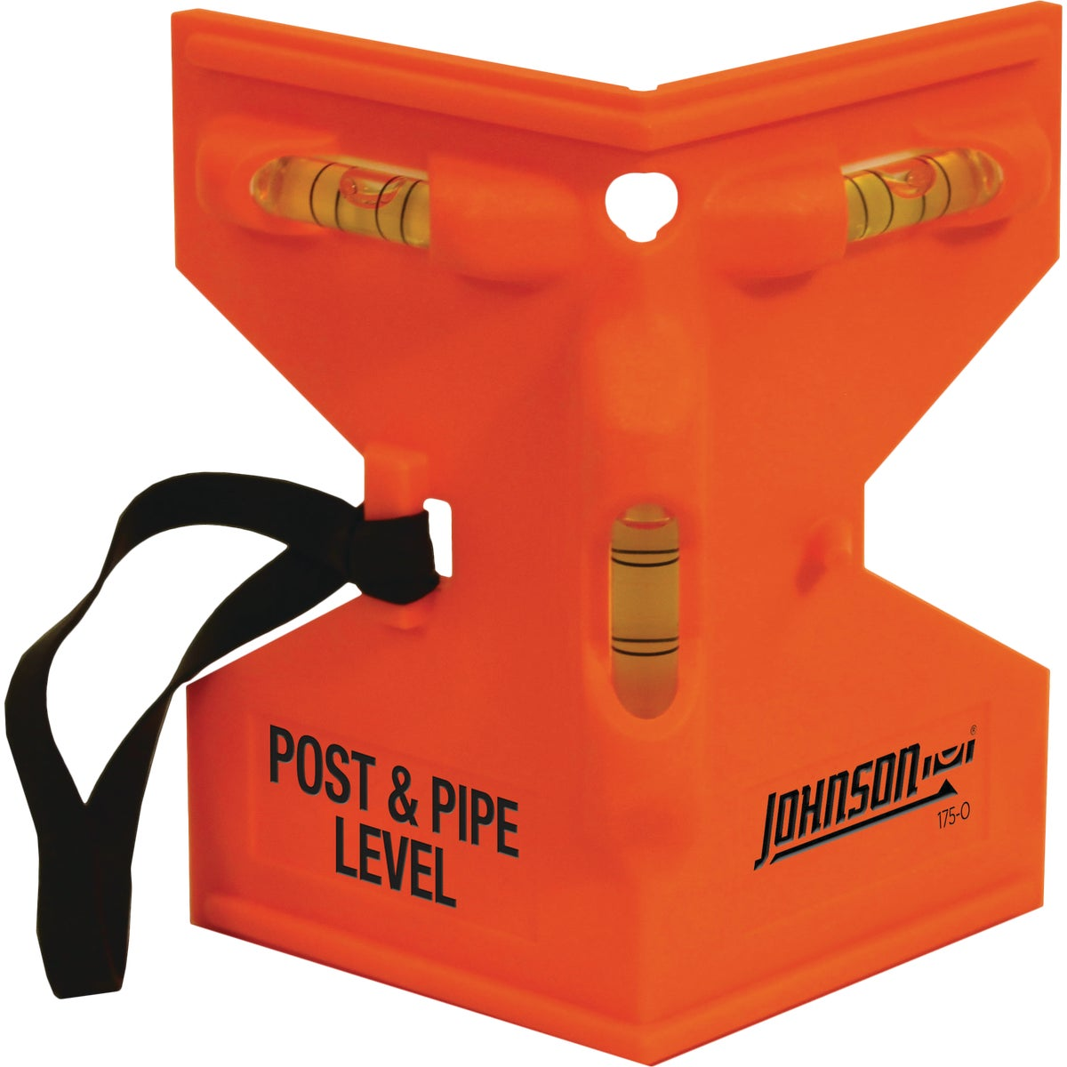 ORANGE POST LEVEL - 175-O by Johnson Level & Tool