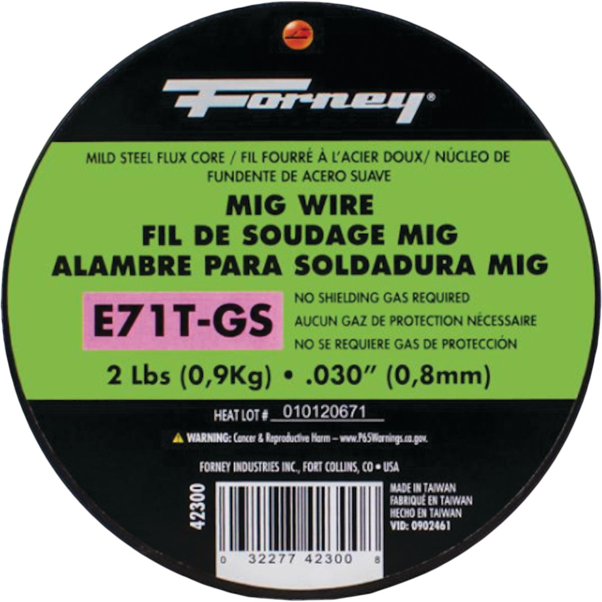 Forney Industries .030 FLUX MIG WIRE 42300