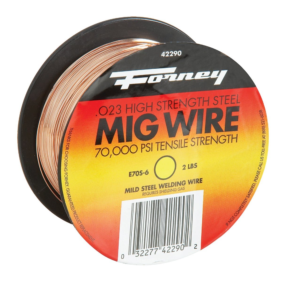 2LB .023 MIG WIRE - 42290 by Forney Industries