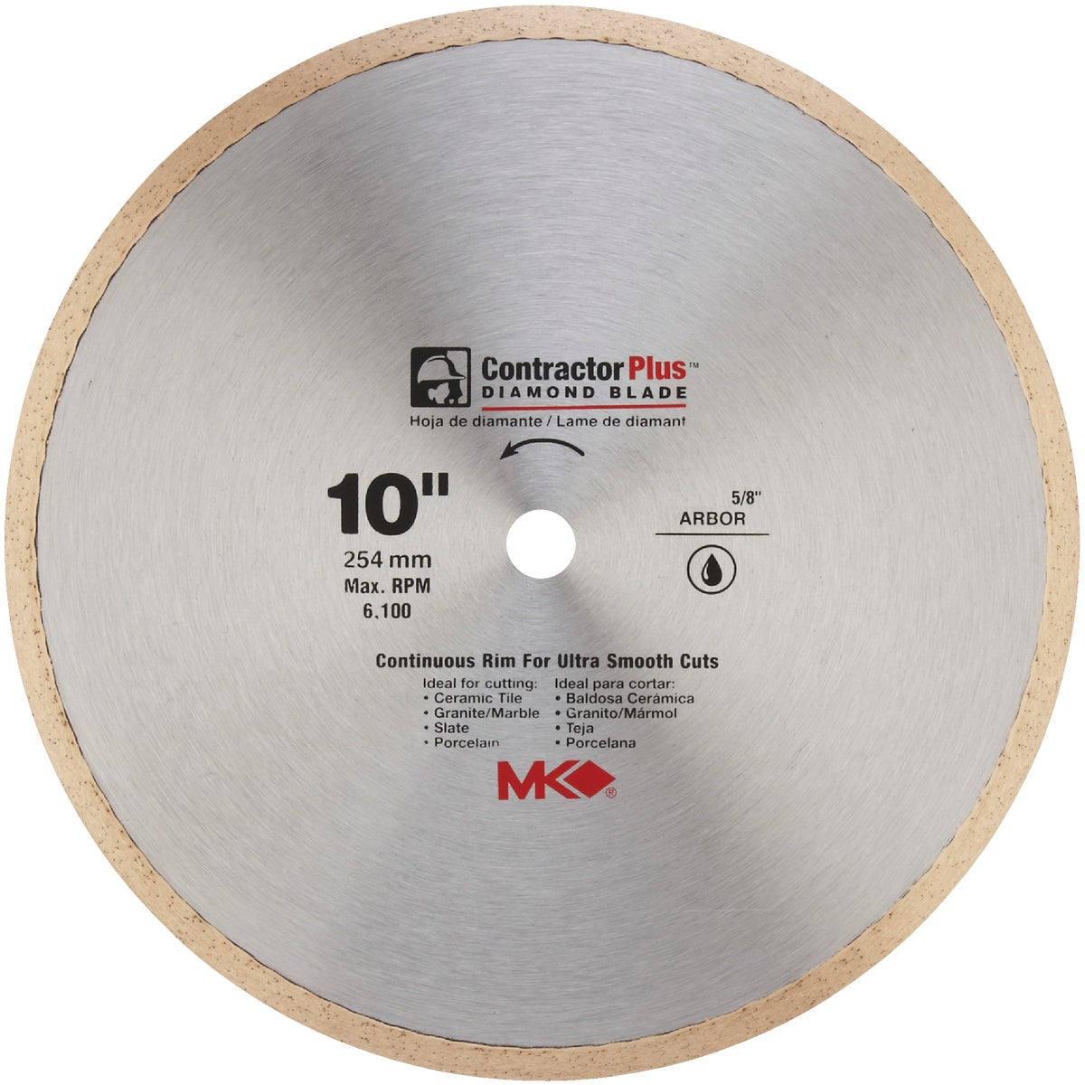 "10"" DIAMOND BLADE - 167010 by M K Diamond Products"