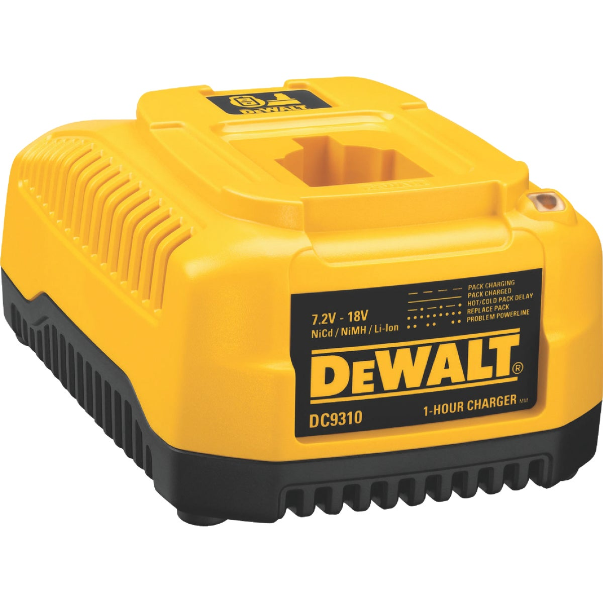1 HOUR BATTERY CHARGER - DC9310 by DeWalt