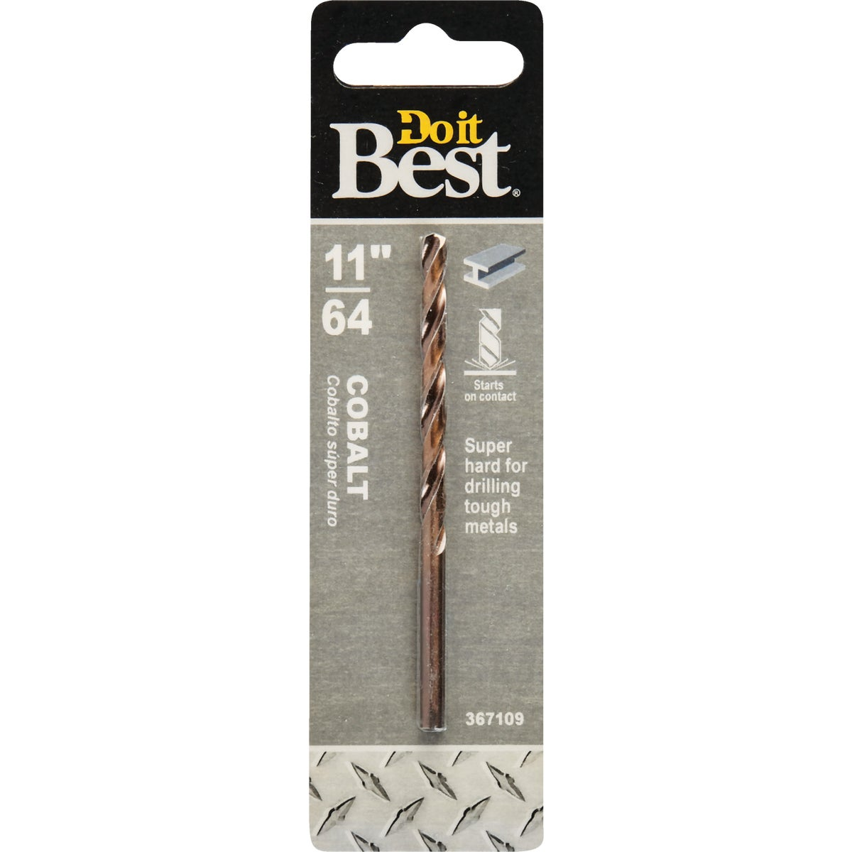 "11/64"" COBALT DRILL BIT - 249291DB by Mibro/gs"