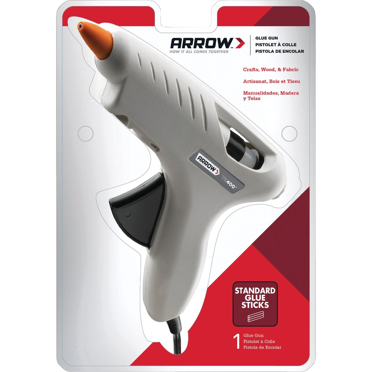 HI-TEMP GLUE GUN - TR400 by Arrow Fastener Co