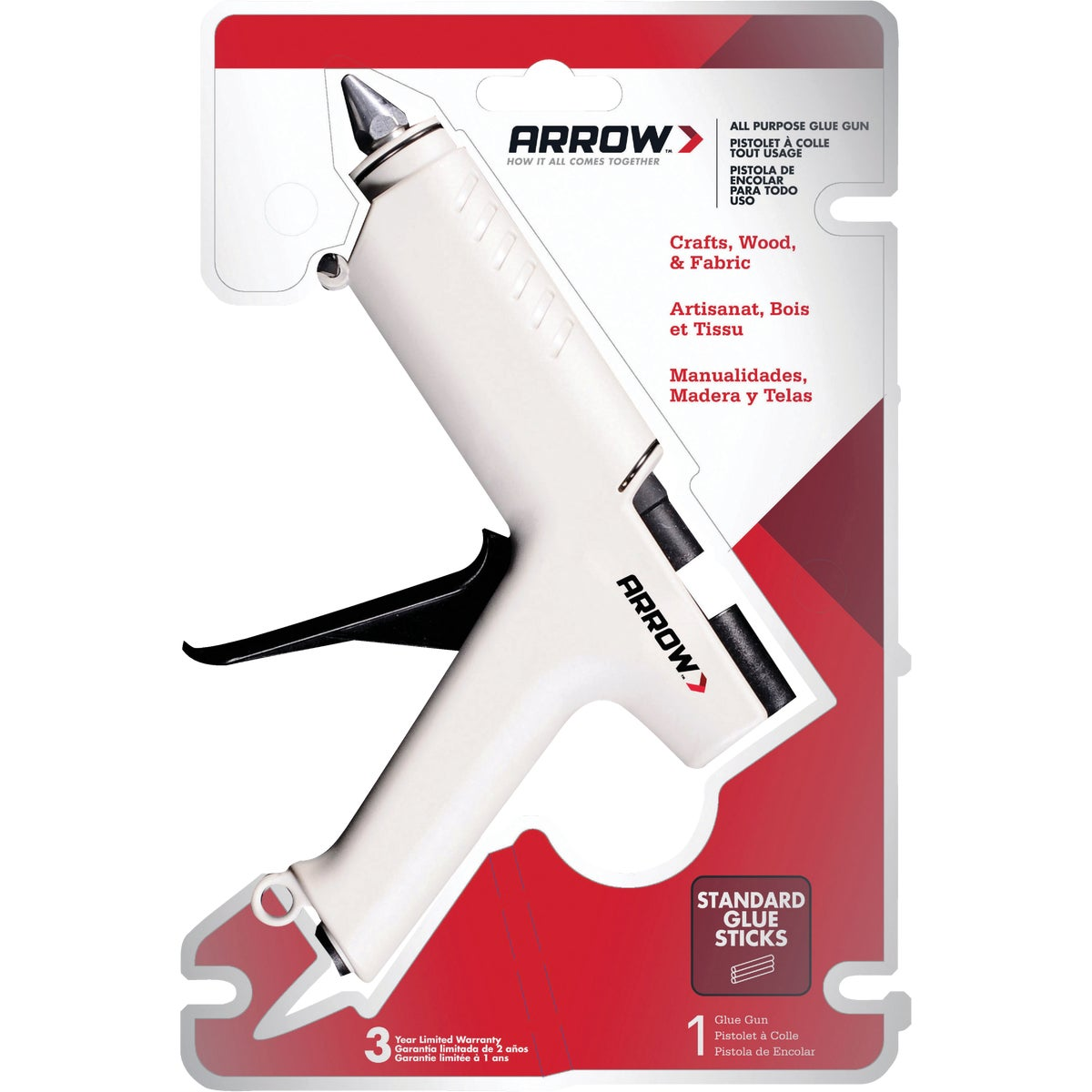 HEAVY DUTY PRO GLUE GUN - TR550 by Arrow Fastener Co