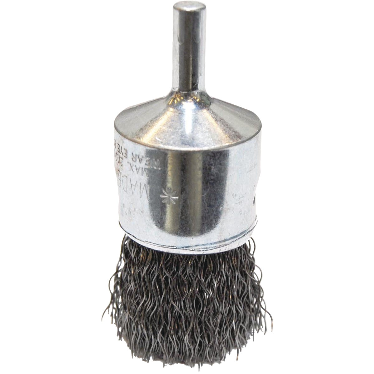 "1""CRIMPED WIRE END BRUSH"
